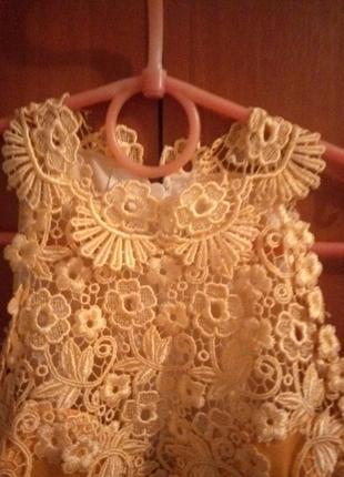Красивое выпускное праздничное платье