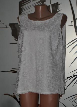 Блузка  нарядная узоры  майка1