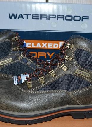 Ботинки skechers® segment mixon-original-waterproof - 42.5р.- 65176 bktn