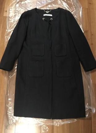 Легкое летнее пальто без подкладки marella sport размер 44