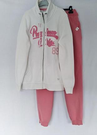 Спортивный прогулочный костюм 48/54 размер смотрите замеры