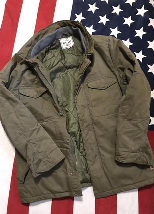 Мужская тёплая куртка в стиле милитари от «peckott»