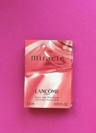 Miracle от lancome пробник