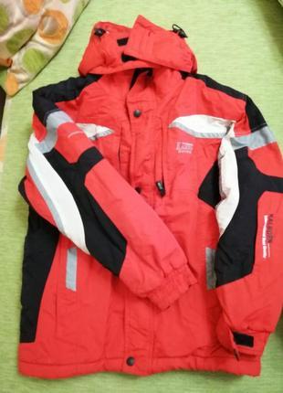 Лижный зимний фирменный костюм комбинезон куртка kalborn детский/ подростковый унисекс