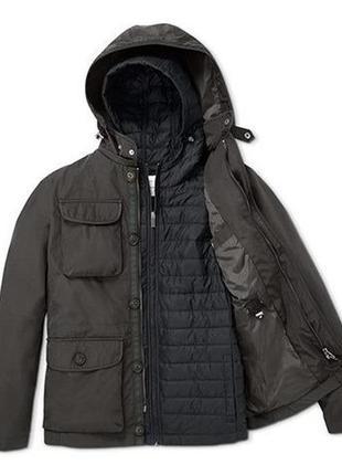 Практично, удобно, экономно - демисезонная куртка - 3 в 1 - куртка-ветровка-жилетка