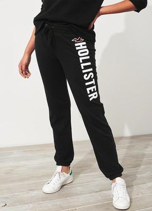 Hollister. сша. классические теплые мягкие спортивные штаны, флис. m/l