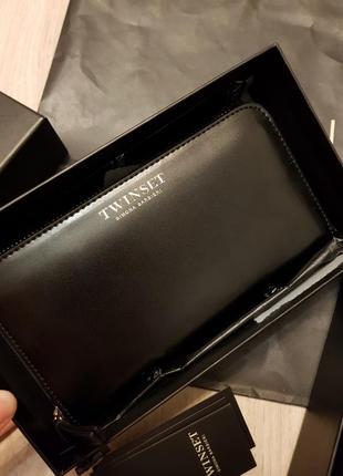 Новый кожаный кошелёк twin set
