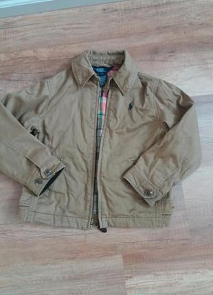 Стильная куртка polo ralph lauren  оригинал на мальчика