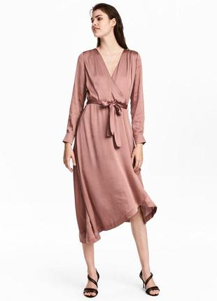Платье миди от h&m 34, 38рр.