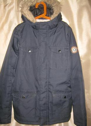 """Куртка утепленная """"brave soul"""" outdoor edition ,р.152-158 см (age 13), с капюшоном"""