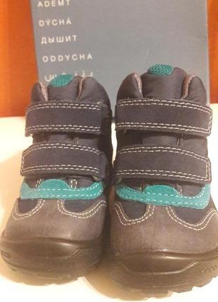 Ботинки сапоги зимние ecco 22