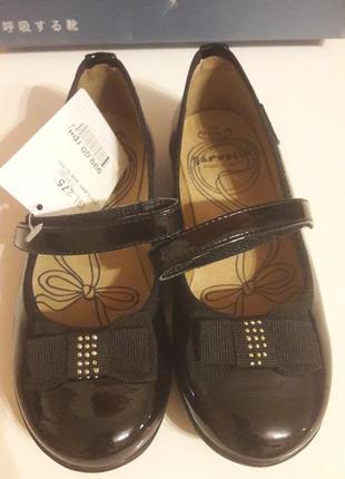 Туфли кожаные лаковые garvalin 28