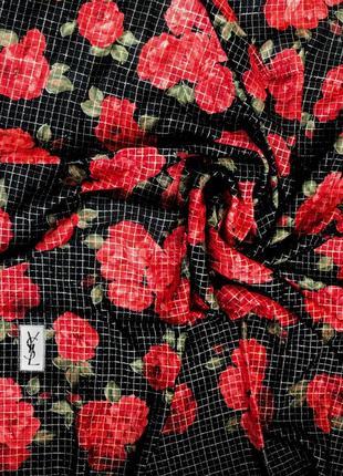 Оригінальний платок yves saint laurent ! шерсть та шовк