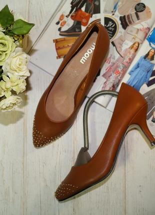 Moow. красивые туфли лодочки