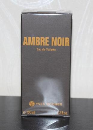 Туалетная вода ambre noir 100мл ив роше