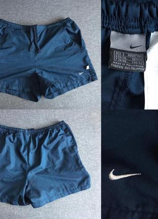 Спортивные шорты на резинке nike