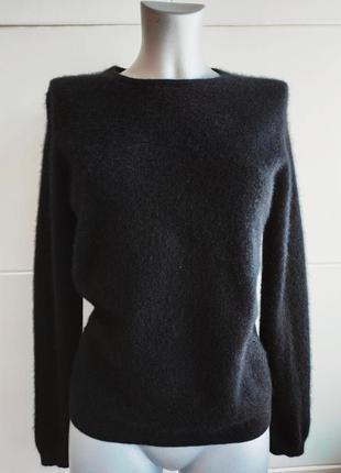 Кашемировый свитер (100% кашемир) lochmere в базовом черном цвете