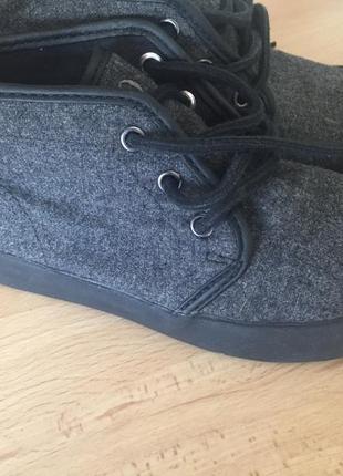 Ботинки тканевые polo ralph lauren