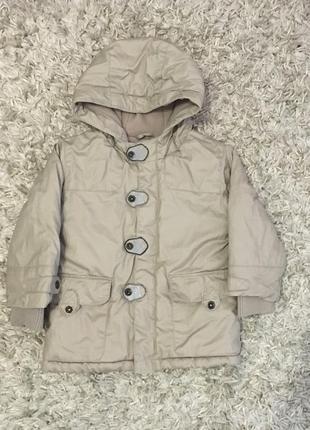 Куртка деми на мальчика, р. 86 см