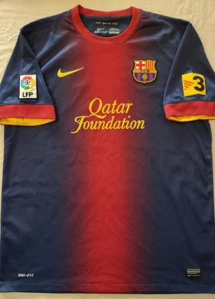 Футболка футбольная фк barcelona