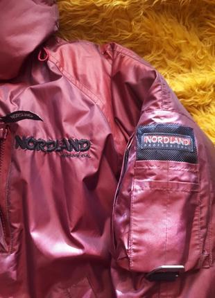 Пуховая фирменная курточка