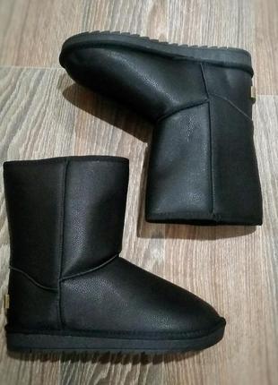 40,41р 42р 43р 44р 45 46 р угги кожаные мужские ботинки дутики эко кожа