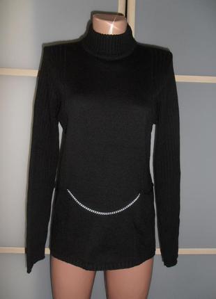 Стильный свитер гольф м/л