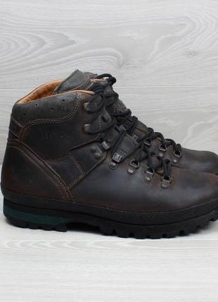 Зимние кожаные мужские ботинки meindl, размер 44 - 44.5