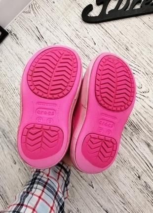 Сапоги ботинки дутики кроксы crocs c9 для девочки3
