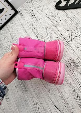 Сапоги ботинки дутики кроксы crocs c9 для девочки4