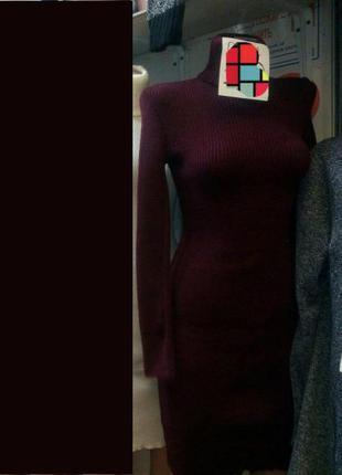 Очень красивые платьица в рубчик 40-46 рр3