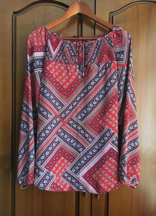 Красивая  блуза с длинным рукавом dorothy perkins