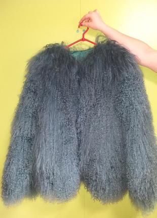 Шуба натуральная альпака (лама)3 фото