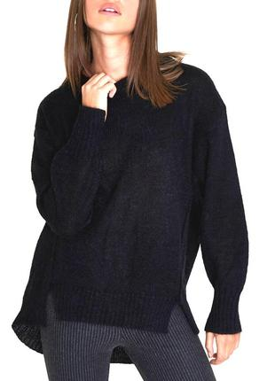 Стильный свитер  оверсайз river island. шерсть, мохер