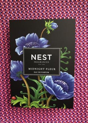 Nest пробник аромата midnight fleur