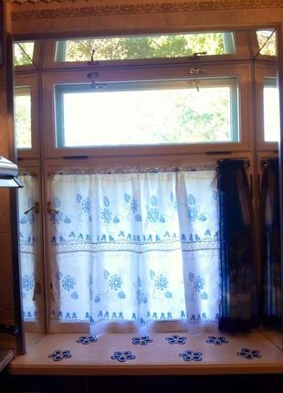Батистовая шторка. штора. занавеска. гардина .2