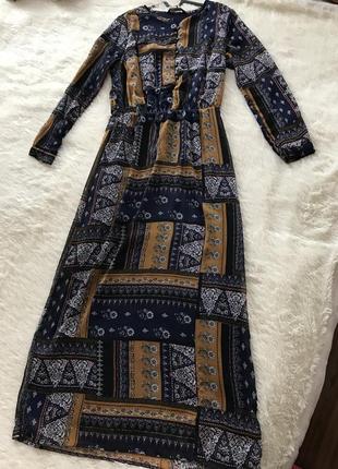 Шикарное платье макси от waikiki размер s m l