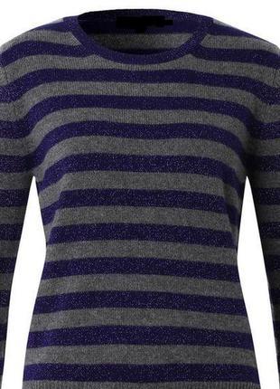 Полосатое платье-свитер marks&spencer, м-л, состояние нового