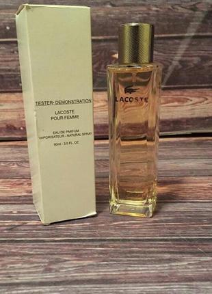 Парфюмированная вода для женщин  lacoste pur femme 90 ml