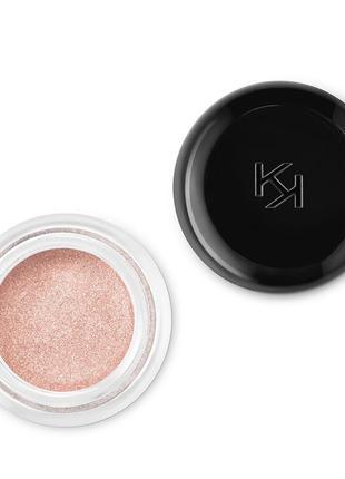 Kiko color lasting стойкие кремовые тени для век  01