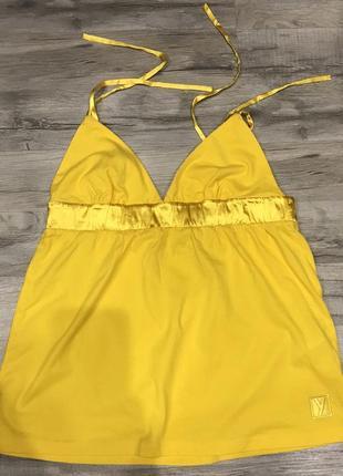 Новый ярко-жёлтый топ yamamay