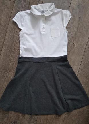 Школьное платья