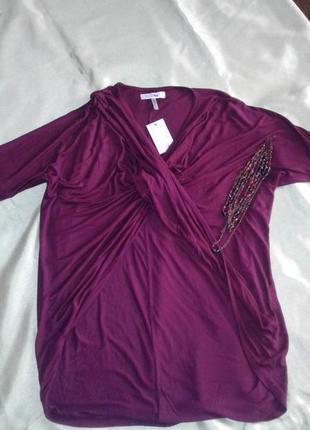 Туника-блуза интересного кроя love label для оригинальной невысокой девушки