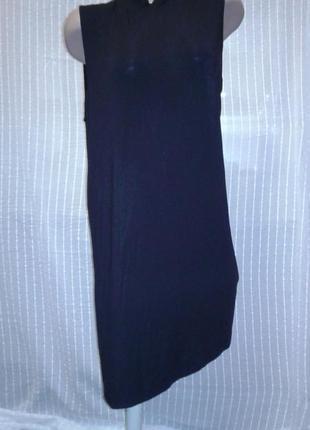 Асимметричное платье-туника. klaus samsoe