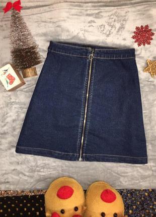 Афігенська джинсова спідниця!!!