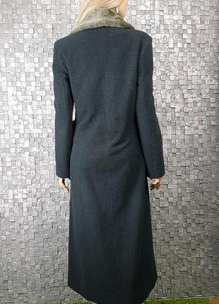 Шикарное шерстяное пальто 80% шерсть4