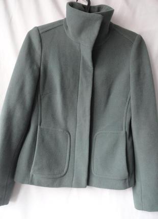 Пальто - куртка шерсть 80 %