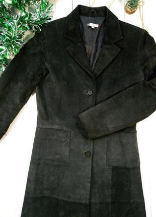 Кожаное пальто, плащ