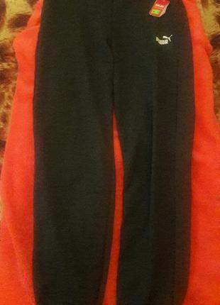Штаны женские спортивные серые пума