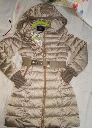 Красивый пуховик куртка м 10 12 38 40